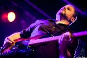 "Diego Tioda ""Manfred"", bajista sustituto de Peralta, Purple Weekend Festival, León. 2013"