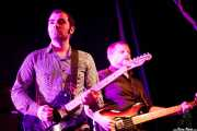 "Ángel Kaplan -guitarra- y Diego Tioda ""Manfred"" -bajo- de Peralta, Purple Weekend Festival, León. 2013"