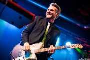 Wyatt Funderburk, guitarrista de Kurt Baker Band, Purple Weekend Festival, León. 2013