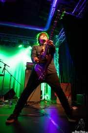 "Geoffrey Palmer ""Geoff Useless"" guitarrista de Kurt Baker Band, Purple Weekend Festival, León. 2013"