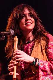 Sara Iñiguez, cantante y flautista de The Magic Teapot, Bilbao. 2014