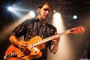 Alfredo Niharra, guitarrista de Luigi Stream & Lee Perk Trio, Santana 27, Bilbao. 2014