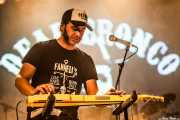 Jokin Totorika, lap steel guitar de Dead Bronco, Santana 27. 2014