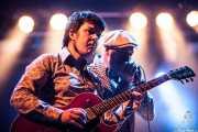 """Iñaki García """"Igu"""" -cantante y armonicista- e Iñigo Ortiz de Zárate -guitarrista y organista- de The Allnighters, Santana 27. 2014"""