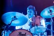 Zigor Akixo, baterista de The Allnighters, Santana 27. 2014
