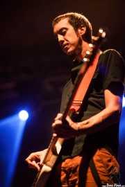 Danilo Foronda, bajista de The Allnighters, Santana 27. 2014