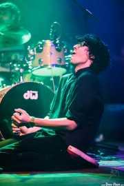 """Asier Gurruchaga """"Gurru"""", baterista invitado de We are standard, Kafe Antzokia, Bilbao. 2014"""