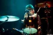 Roy McDonald, baterista de Redd Kross, Kafe Antzokia, Bilbao. 2014
