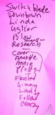 001 Redd Kross 16I14 setlist
