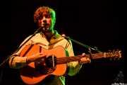 Keez Groenteman, guitarrista de Jacco Gardner (Kafe Antzokia, Bilbao, 2014)