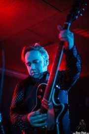 James Hustler, guitarrista de Screaming George & The Hustlers, en Santana 27, BIlbao