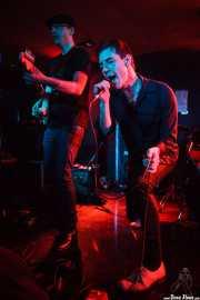 Diego Von Hustler y Screaming George, de Screaming George & The Hustlers, en Santana 27, BIlbao