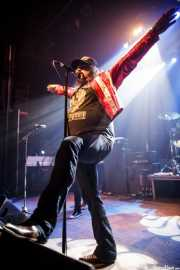 Blaine Cartwright, cantante y guitarrista de Nashville Pussy (Kafe Antzokia, Bilbao, 2014)