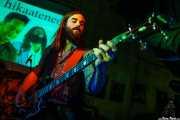 Ryan Lynn, bajista de John The Conqueror, Hika Ateneo, Bilbao. 2014