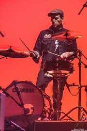 Javi Caballero, baterista de The Weapons (14/02/2014)