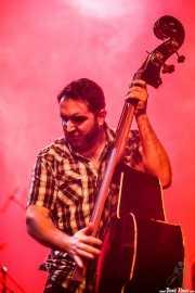 Víctor Martín, contrabajista de The Weapons (14/02/2014)