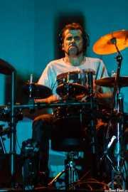 Igor Imaz, baterista de Mamba Beat, Social Antzokia, Basauri. 2014