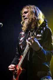 Eric Saylors, guitarrista de The Steepwater Band (Kafe Antzokia, Bilbao, 2014)