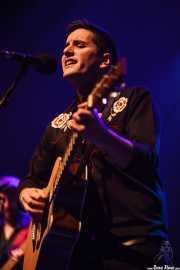 Jon Basaguren, cantante y guitarrista de Izaki Gardenak, Bilbao. 2014
