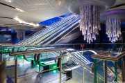 Estación de metro de Burjuman, Dubai 090 Vacaciones Marzo 2014 Emiratos Arabes Unidos Dubai