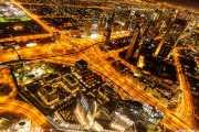Dubai desde el piso 124 de la Burj Khalifa 112 Vacaciones Marzo 2014 Emiratos Arabes Unidos Dubai