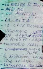Setlist de Tumba Swing en el Fuzz in the City, Bilbao