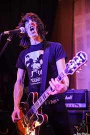 Koldo Soret, guitarrista y cantante de Niña Coyote eta Chico Tornado, Hika Ateneo. 2014