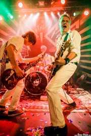 Scruff y Pete Dee, de The Adicts, en la Sala Sonora, Erandio