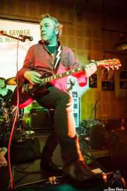 James Hustler, guitarrista de Screaming George & The Hustlers, en el Fuzz in the City 2014, Bilbao