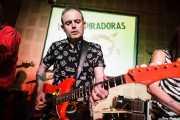 Chicho, Guitarrista, cantante y armonicista de Las Aspiradoras, en el Fuzz in the City 2014, Bilbao
