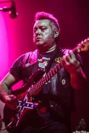 Salomón Molina Martín, guitarrista de Marcos Sendarrubias, Kafe Antzokia. 2014