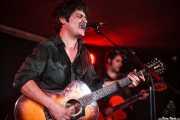 Txomin Guzman y Alfredo Niharra, de The Fakeband, Santana 27, 2014