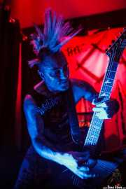Jake Kolatis, guitarrista de The Casualties, FreakOut Club, 2014