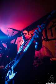 Rick Lopez, bajista de The Casualties, FreakOut Club, 2014