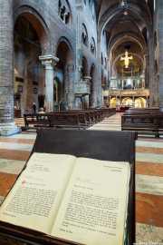 Interior de la Catedral de Módena, Duomo, 2014