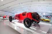 Alfa Romeo RL Targa Florio 1924. Exhibición de coches en la casa-museo de Enzo Ferrari, Via Paolo Ferrari, 85, 2014