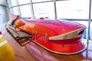 Timossi Ferrari. Exhibición de coches en la casa-museo de Enzo Ferrari, Via Paolo Ferrari, 85, 2014