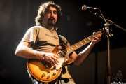 Roberto Crespo, guitarrista de Luber Jack, Kafe Antzokia, 2014