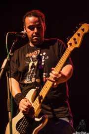 Dani, bajista de Nasti de plasti, Kafe Antzokia, 2014