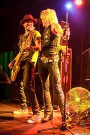 Sami Yaffa y Michael Monroe, de Michael Monroe Band, Sala Sonora, 2014