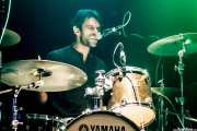 Yann, baterista de Laredo, Kafe Antzokia, 2014