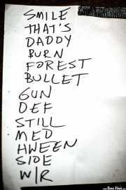 Setlist de The Dream Syndicate, Kafe Antzokia, 2014