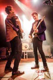 Jason Victor y Steve Wynn, de The Dream Syndicate, Kafe Antzokia, 2014