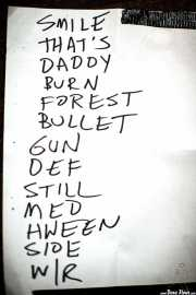Setlist de The Dream Syndicate, Kafe Antzokia, 2014