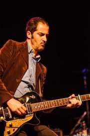 Iñigo Bailador, guitarrista de Frank, Intxaurrondo K.E., 2014