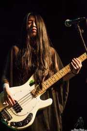 Yukary, bajista de ZZZ's, Intxaurrondo K.E., 2014