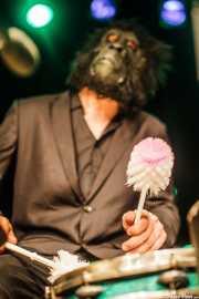 Antonio Pelomono, baterista de Pelo Mono, Intxaurrondo K.E., 2014
