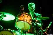Ian White, baterista de Gallon Drunk, Intxaurrondo K.E., 2014
