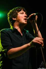 Roddy Campbell, cantante de Conn Bux, Kafe Antzokia, 2014