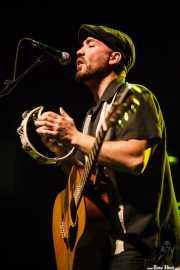 Alfredo Lázaro, guitarrista de Conn Bux, Kafe Antzokia, 2014